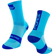 Force LONG PRO modré - Ponožky
