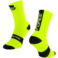 Force LONG PRO žlté/čierne - Ponožky