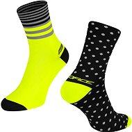 Force SPOT čierna/žltá 42 – 46 EÚ - Ponožky