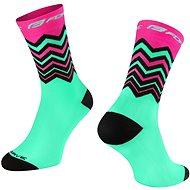 Force WAVE ružová/zelená 36 – 41 EÚ - Ponožky