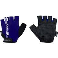 Cyklistické rukavice Force KID, modré