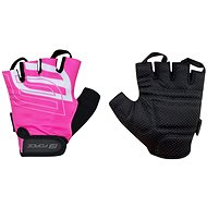 Cyklistické rukavice Force SPORT, ružové