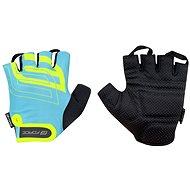 Cyklistické rukavice Force SPORT, modrá/fluo