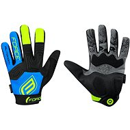 Force MTB AUTONOMY, čierno-modré - Cyklistické rukavice