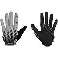 Force KID MTB ANGLE, sivo-čierne - Cyklistické rukavice