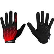 Force MTB ANGLE, červeno-čierne - Cyklistické rukavice