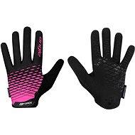 Force MTB ANGLE, ružovo-čierne - Cyklistické rukavice