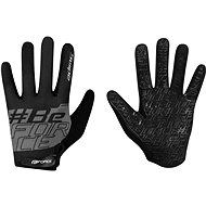 Force MTB SWIPE, čierno-sivé - Cyklistické rukavice