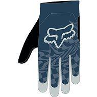 Cyklistické rukavice Fox Flexair Glove modré L