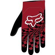 Cyklistické rukavice Fox Flexair Glove červené M