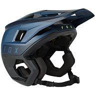 Prilba na bicykel Fox Dropframe Pro Helmet modrá/čierna