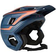 Prilba na bicykel Fox Dropframe Pro Helmet modrá/červená