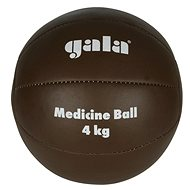 GALA Leather Medicine Ball, 4kg - Medicine Ball