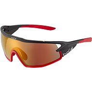 Cyklistické okuliare Bollé B-ROCK PRO Black Matte – Phantom Brown Red PhotoVoltic CAT.2-3