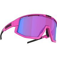 Bliz FUSION NANO OPTICS Matt Neon Pink Nordic Light Begonia – Violet w Blue Multi Cat.2 - Cyklistické okuliare