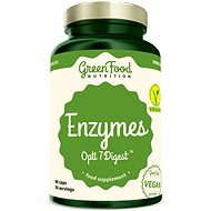 GreenFood Nutrition Enzymy Opti 7 Digest 90cps - Superfood