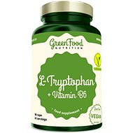 GreenFood Nutrition L-Tryptophan 90cps - Aminokyseliny