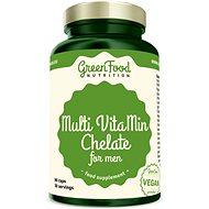 GreenFood Nutrition Multi VitaMin Chelate pro muže 90cps - Vitamín