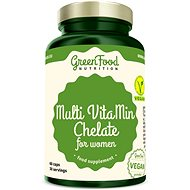 GreenFood Nutrition Multi VitaMin Chelate pro ženy 60cps - Vitamín