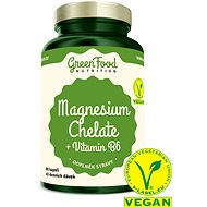 GreenFood Nutrition Magnesium Chelát 90cps - Minerály
