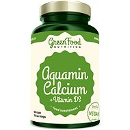 GreenFood Nutrition Aquamine + Vitamin D3 60 cps