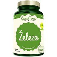 GreenFood Nutrition Železo 60 kapsúl - Minerály