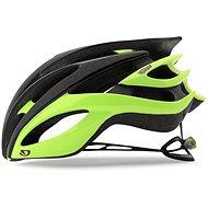 Giro Atmos II Mat Black/Highlight Yellow M - Prilba na bicykel