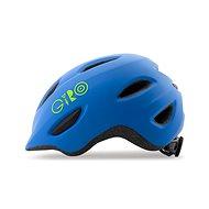 Giro Scamp Mat Blue/Lime S - Prilba na bicykel