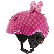 GIRO Launch Plus Pink Bow Polka Dots XS - Lyžiarska prilba