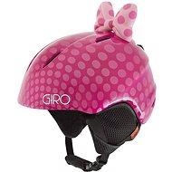 GIRO Launch Plus Pink Bow Polka Dots - Lyžiarska prilba
