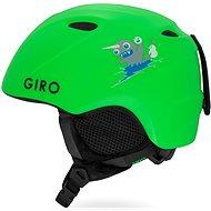 GIRO Slingshot Mat Bright Green XS/S - Lyžiarska prilba