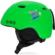 a87521b83b6dd GIRO Slingshot Mat Bright Green - Lyžiarska prilba