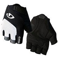 GIRO Bravo White/Black L - Cyklistické rukavice