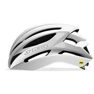 GIRO Syntax MIPS Mat White/Silver - Prilba na bicykel