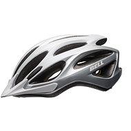 BELL Traverse White/Silver - Prilba na bicykel