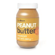 GymBeam Arašidové maslo 100 % crunchy 1000 g - Maslo