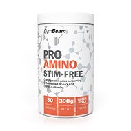 GymBeam ProAMINO stim-free 390 g, green apple - Aminokyseliny