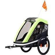 Hamax AVENIDA ONE, Lime - Vozík za bicykel