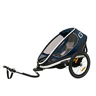 Hamax OUTBACK ONE, Navy modrá - Vozík za bicykel