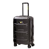 CAT trolley polykarbonát čierny 59,5 l - Cestovný kufor s TSA zámkom