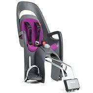 Hamax Caress sivá/fialová - Detská sedačka na bicykel