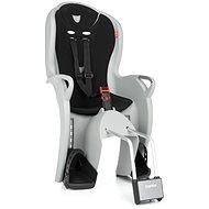 Hamax Kiss sivá/čierna - Detská sedačka na bicykel