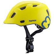 Hamax Thundercap street zelená/modré pásiky 52 – 57 cm - Prilba na bicykel