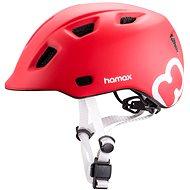 Hamax Thundercap Street Red/Silver Straps 52-57cm - Bike Helmet