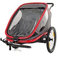 Hamax Outback 2 in 1 sivá/červená/antracit - Vozík za bicykel