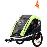 Hamax Avenida Twin lime - Vozík za bicykel