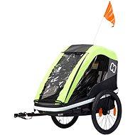 Hamax Avenida One lime - Vozík za bicykel