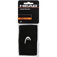 """Head Wristband 5"""" čierna - Potítko"""