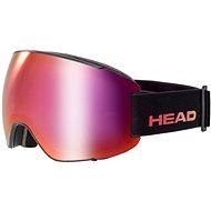 Head Magnify FMR black/red + SL - Lyžiarske okuliare