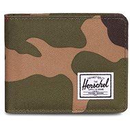 Herschel Roy + Coin RFID Woodland Camo - Peňaženka